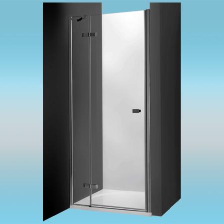 Душевая дверь ROLTECHNIK HITECH HORIZON распашная HHNL1/1100 левая 1115x2007x695