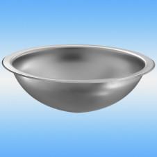 Раковина встраиваемая сверху DELABIE HEMI ø 310 чаша полированная/сатин 1 сторона