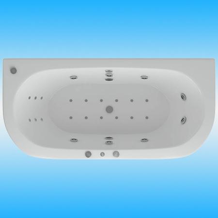 Ванна акриловая AQUATEK МОРФЕЙ 1900х900 без каркаса и перелива