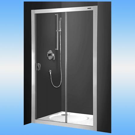 Душевая дверь ROLTECHNIK ECD2/1200 brillant раздвижная ECD2 1200