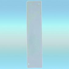 Боковая панель экрана для чугунного радиатора, белая