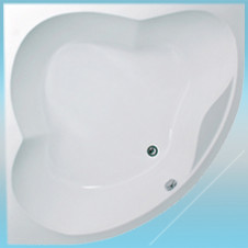 Ванна акриловая 1 МАРКА CASSANDRA 1400х1400х630 в комплекте с каркасом