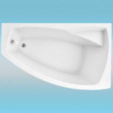 Ванна акриловая 1 МАРКА ASSOL правая 1600х1000х680 в комплекте с каркасом