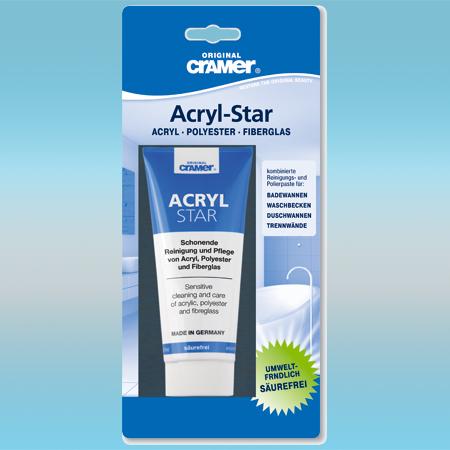 Средство чистящее CRAMER Acryl Star для ухода за акриловыми поверхностями 100 мл