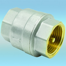 Клапан обратный латунь-никель вн-вн ø 3/4 HLV