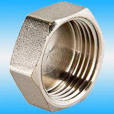 Заглушка внутренняя резьба ø 1 никель