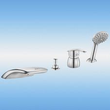 Ванна акриловая ALPEN ANDRA 1700х900 без ножек (каркаса), без гидромассажа, левая