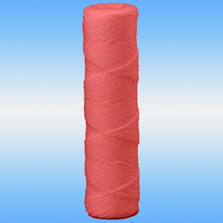 Элемент фильтрующий ЭФГ PP-10 (для х/в 10 мкм) для удаления железа, намоточный, красная нить