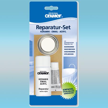 Ремкомплект CRAMER PURE WHITE для восстановления керамики, эмали и акрила