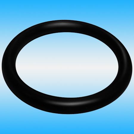 Кольцо уплотнительное на излив ø 19 резина, черный
