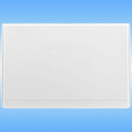 Экран торцевой к акриловой ванне AQUANET Jersey 900х700 универсальный, белый
