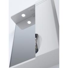 Шкаф зеркало VIGO JIKA 50 500x150x700 белый, правый с подсветкой
