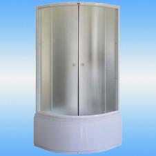 Ванна аквариловая AQUATIKA САБЗЕРО 2070х1600x900 правая, монолитная на подиуме, без гидромассажа