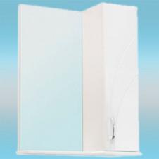 Зеркало-шкаф СТК ВЕНЕЦИЯ 570х717х230 белый, без подсветки