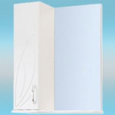 Зеркало-шкаф СТК ВЕСНА левый 570х717х230 белый, без подсветки