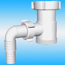 Отвод для стиральной машины АНИ ПЛАСТ М110 ø 1 1/2x1 1/2 (уп. 35 шт)