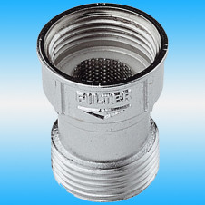 Фильтр для стиральной машины вн-нар ø 3/4x3/4, хром