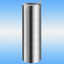 Питьевой фонтан напольный DELABIE ILHA ø 320 полированный/сатин 320х320х950