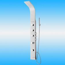 Душевая панель CREAVIT P602C из нержавейки с термостатом, глянцевая
