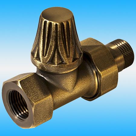 Вентиль для чугунного радиатора RETROstyle RS 220B 1/2