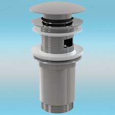 Выпуск для сифона ALCAPLAST Click-Clack A392 ø 5/4 цельнометаллический, круглый