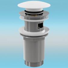 Выпуск для сифона ALCAPLAST Click-Clack A392B ø 5/4 цельнометаллический, круглый