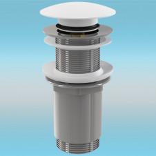 Выпуск для сифона ALCAPLAST Click-Clack A395B ø 5/4 цельнометаллический, круглый
