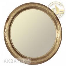 Зеркало АКВАТОН АНДОРРА-90, круглое, золото