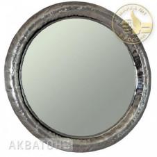Зеркало АКВАТОН АНДОРРА-90, круглое, серебро