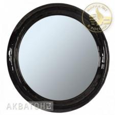 Зеркало АКВАТОН АНДОРРА-90, круглое, черное