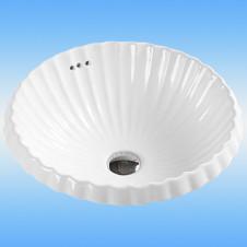 Умывальник накладной MELANA LT-2062 прямоугольный, белый 605x460x105
