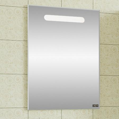 Зеркало САНТА ЛОНДОН 60 с LED подсветкой, механический выключатель 600х850