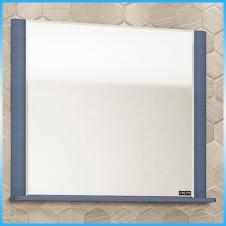 Зеркало САНТА МАДРИД 80, 810х820х16, белая патина, серебро