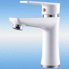 Смеситель для кухни РМС SL39-004FB-15 однорычажный, плоский излив 150 мм, на гайке, хром
