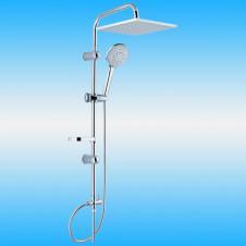 Душевая стойка CREAVIT SH620 с верхним душем и лейкой, хром, АКЦИЯ