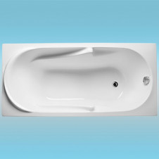 Ванна акриловая RELISAN DARIA 1500х700x630, в комплекте с каркасом и сливом
