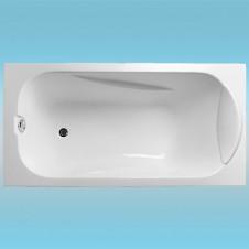 Ванна акриловая RELISAN ELVIRA 1500х750x600, в комплекте с каркасом и сливом