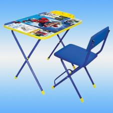 Комплект детской мебели ЧЕЛОВЕК ПАУК 2 (стол 600х450х580 мм + стул мягкий) Ижевск