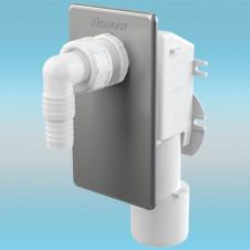 Сифон для стиральной машины ALCAPLAST APS3 под штукатурку, хром