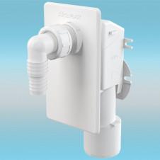 Сифон для стиральной машины ALCAPLAST APS4 под штукатурку, белый