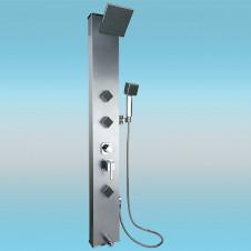 Душевая панель KAISER 3 режимная, смеситель, 3 форс. гидромассаж,1400 мм