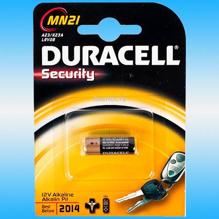 Батарейка DURACELL MN21 12V Алкалиновая для эл/приборов (1шт)