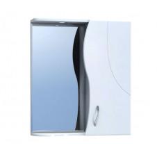 Шкаф зеркало VIGO ALESSANDRO-60 600x150x700 белый, правый