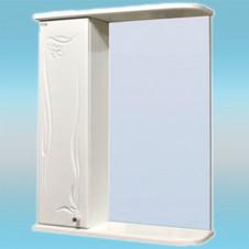 Зеркало-шкаф СТК ГЛОРИЯ 50 левый 525х705х180 белый, без подсветки