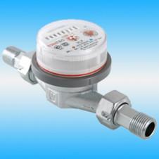 Счетчик воды VALTEC VLF-20U универсальный ø 3/4 с монтажным комплектом