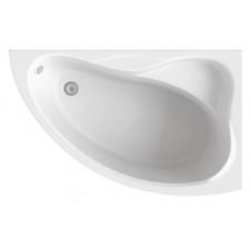 Ванна акриловая BAS ВЕКТРА 1500х900x500 правая, в комплекте с каркасом