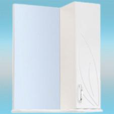 Зеркало-шкаф СТК ВЕСНА правый 570х717х230 белый, без подсветки