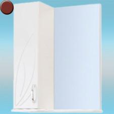 Зеркало-шкаф СТК ВЕСНА левый 570х717х230 вишня, без подсветки