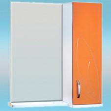 Зеркало-шкаф СТК ВЕСНА правый 570х717х230 мандарин, без подсветки