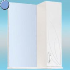 Зеркало-шкаф СТК ВЕСНА правый 570х717х230 небесный, без подсветки
